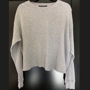 Brandy Melville Crop Top long sleeve shirt